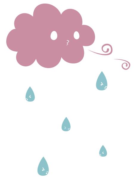 雨を降らすよ!!