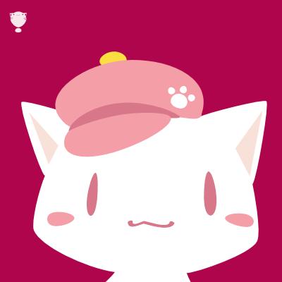 猫ちゃん帽子
