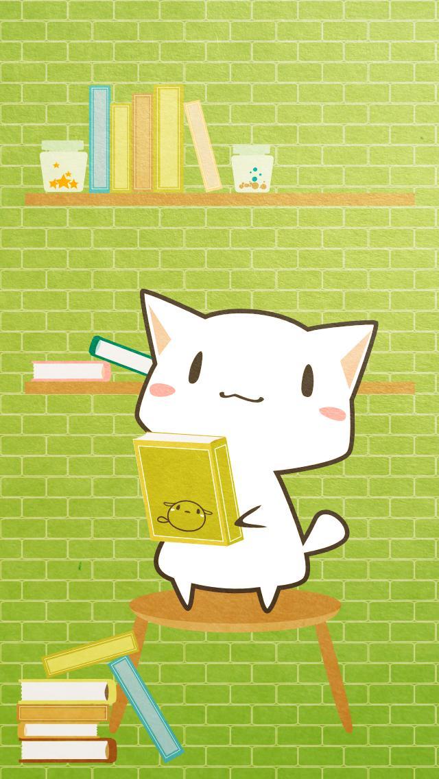 ご本を片付け