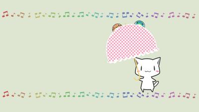 Umbrella neko