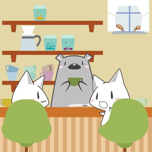 もふもふカフェ