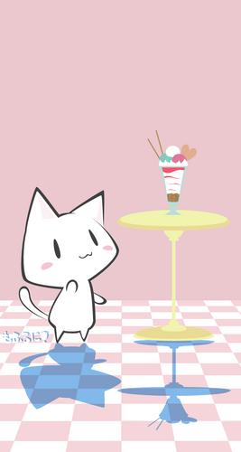 ねこちゃんパフェ