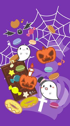 おばけ,かぼちゃ,ハロウィン